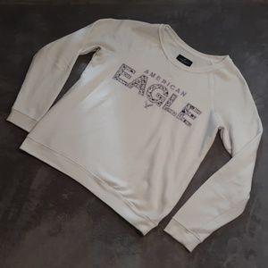AEO women's size M crewneck pullover sweatshirt